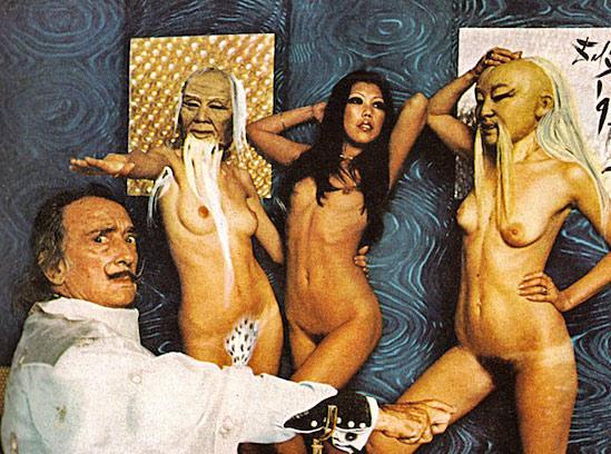 Эротические рисунки сальвадора дали